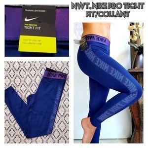 NWT,  Nike Pro warm w/dri-fit technology